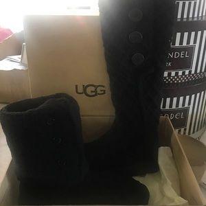 UGG Shoes - UGG W lattice cardy black size 9